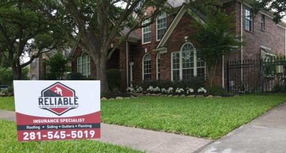 Katy Roofing Company re-roofed a home in Cypress, Texas