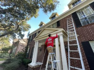 Local Katy Painting Company re-paints Katy home